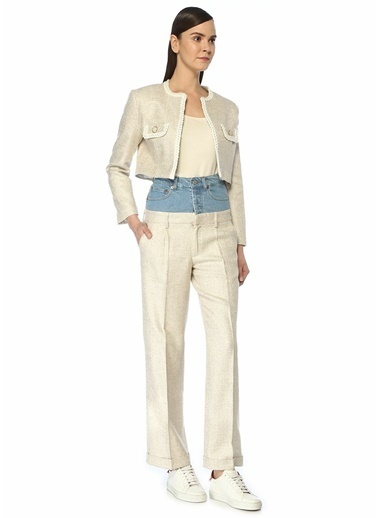Forte Couture Pantolon Ekru